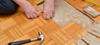 Wood Floor Repairs in staines