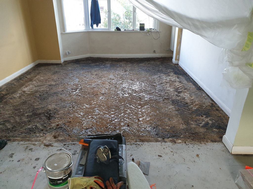 clean subfloor - #7