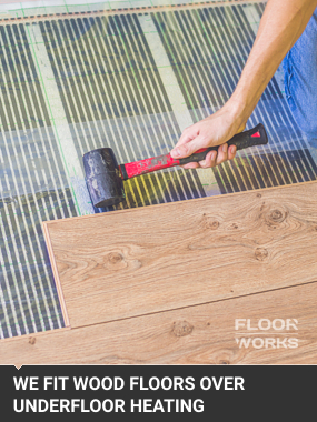 Wood Flooring Over Underfloor HeatingStaines