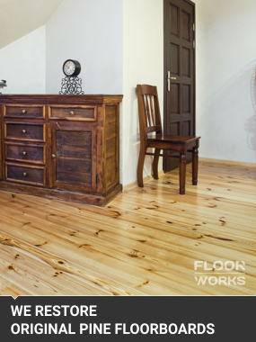 Original Pine Floorboards Restoration 2Holborn