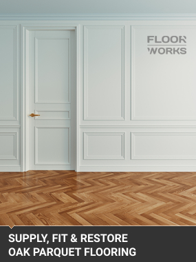 Supply Fit Restore Oak Parquet FlooringBromley