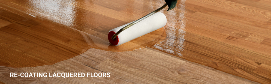Recoating Lacquered Floors