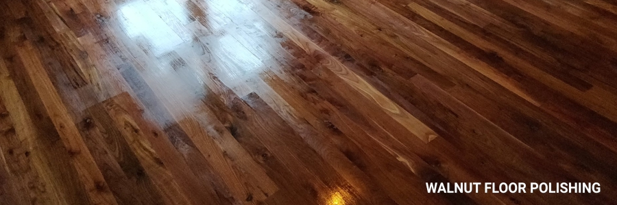 Walnut Floor Polishing 1