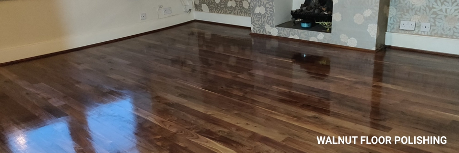 Walnut Floor Polishing 2