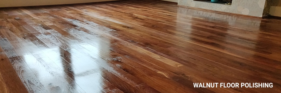 Walnut Floor Polishing