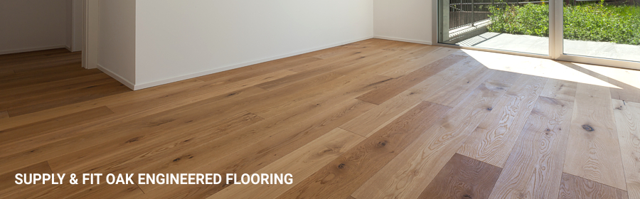 Oak Engineerd Wood Flooring