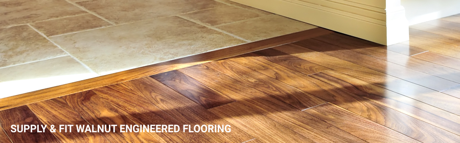 Walnut Engineerd Wood Flooring 1