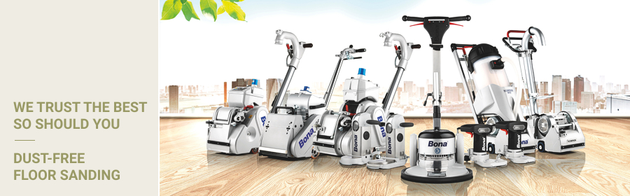 Wide Sand Dust Free Floor Sanding