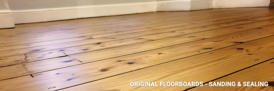 Floorboards Sanding And Sealing