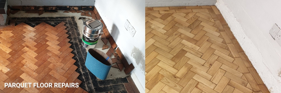 Hardwood Parquet Floor Repairs 1 in southall