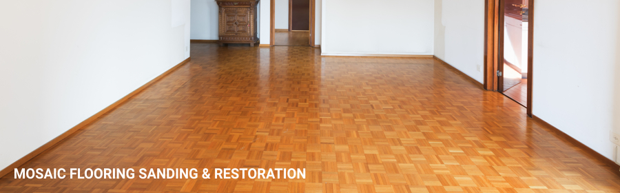Mosaic Flooring Sanding Restoration in canning-town