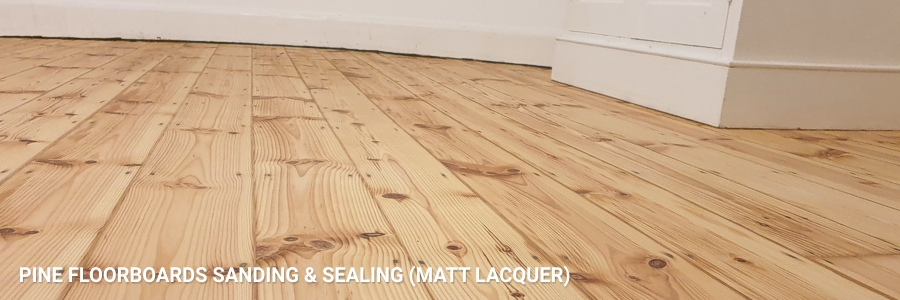 Pine Floorboards Sanding Sealing 1