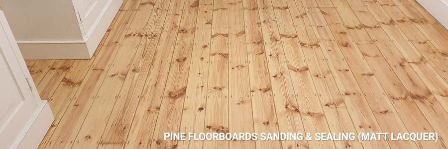 Pine Floorboards Sanding Sealing 4