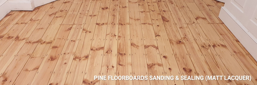 Pine Floorboards Sanding Sealing 7
