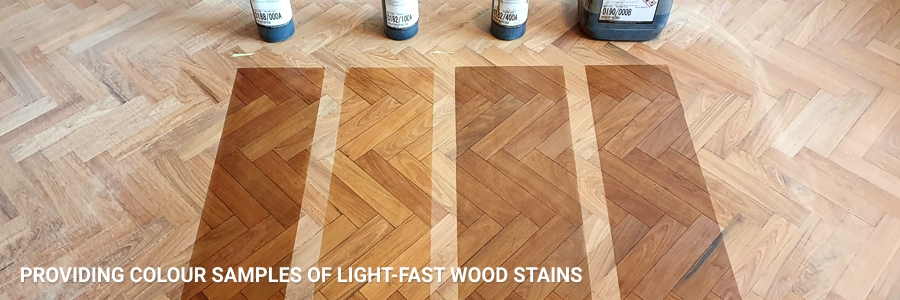 Providing Samples Of Wood Stains