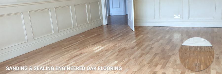 Sanding And Sealing Engineered Flooring