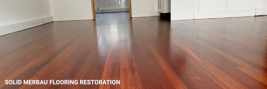 Solid Merbau Floor Restoration