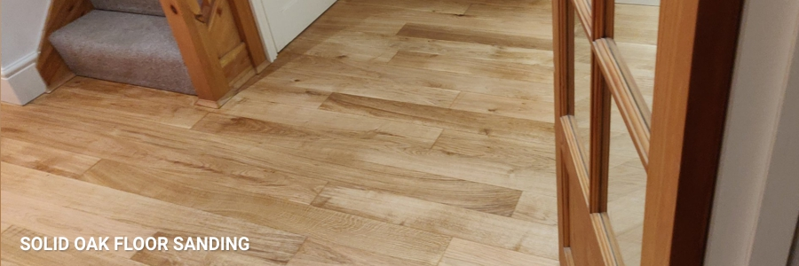 Solid Oak Floor Sanding 3