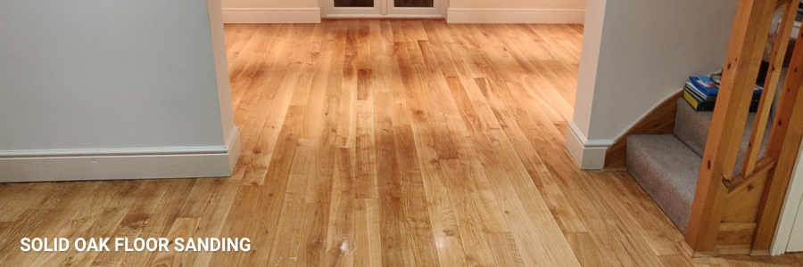 Solid Oak Floor Sanding 4