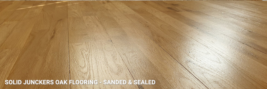 Solid Oak Junckers Flooring Restoration With Hp Commercial