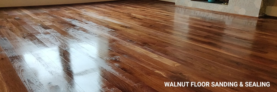 Walnut Floor Sanding 1