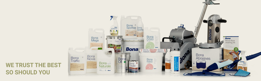 We Trust Bona Products